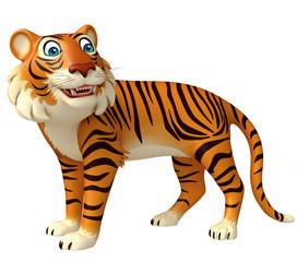 funny Tiger cartoon character