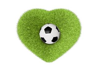Ei Herz für Fußball