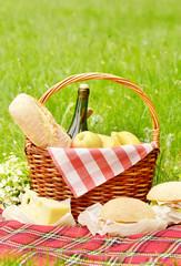 Foto op Aluminium Picknick Picnic basket