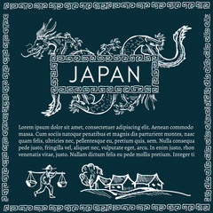Japan, Japanese dragon traditions and culture of Japan