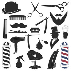 Barber photos royalty free images graphics vectors for Simbolo barbiere