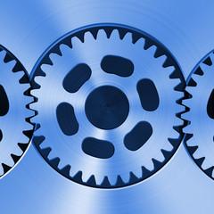 Metal cog wheels