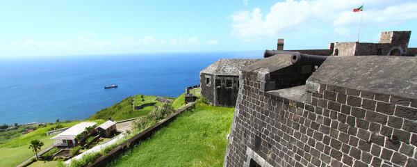 Brimstone Hill Fortress Saint Kitts