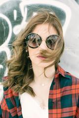 portrait of a modern teenage girl