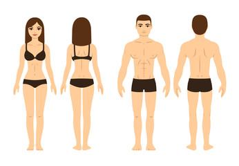 Male and female body