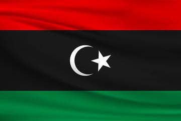 National flag of Libya
