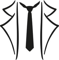 Legere suit with tie