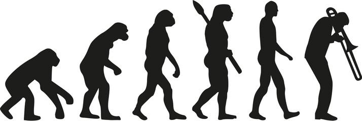 Trombone player evolution