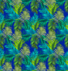 foliage seamless pattern