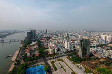 Business District of Da Nang City May 2015