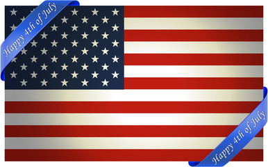 4th of July independence day background. Easy to edit. Perfect for invitations or announcements.