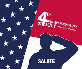 Salute - 4th of July - Independence day