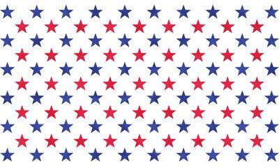 レトロ アメリカン 星 パターン 背景