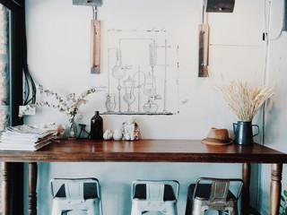 table interior vintage