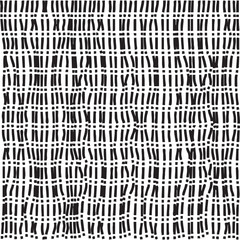 Abstract dotted and dashed seamless pattern