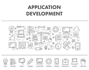 Outline concept for application development