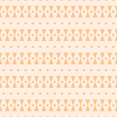 Hourglass shapes and small ovals seamless pattern