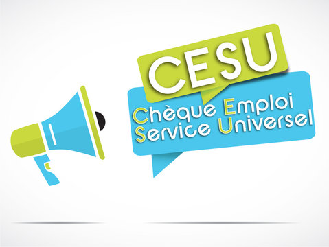 megaphone : CESU