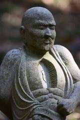 【五百羅漢像/春の箱根仙石原長安寺】