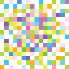 Abstract background - colorful squares - mosaic