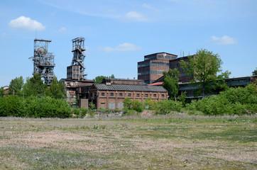 Old mine in Bytom (Poland)