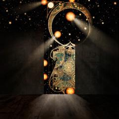 Entrance to Paradise, 3D illustration