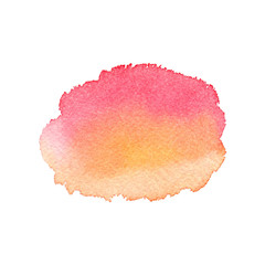 Watercolor vector texture in shades of rose