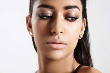 natural shiny summer makeup