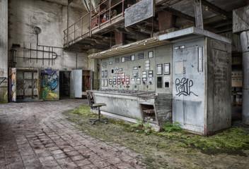 Altes Kohlekraftwerk Lost Place