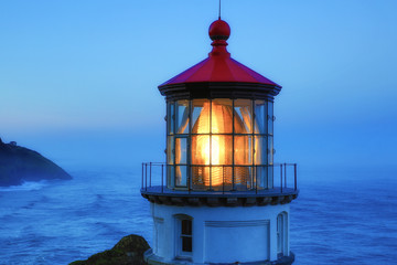 Lighthouse of Oregon coast