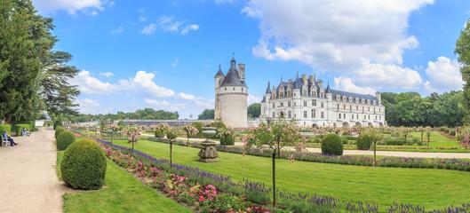 Panorama Chateau de Chenonceau, Loire Valley