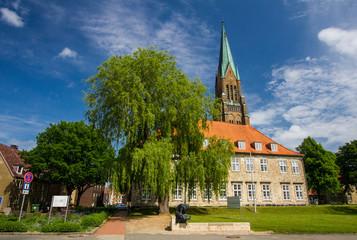Dom of Schleswig in Schleswig-Holstein, Germany.