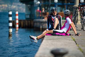 small talk - bike weekend on garda lake