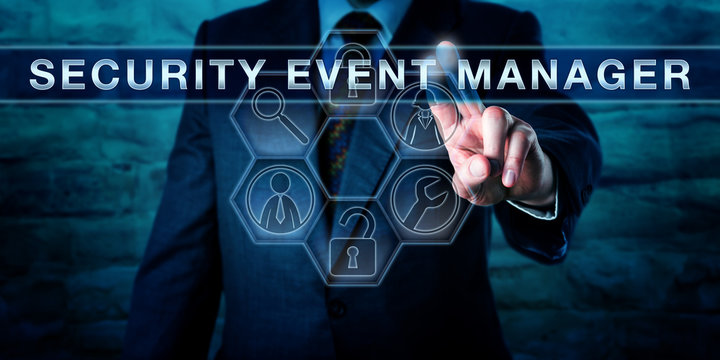 Administrator Touching SECURITY EVENT MANAGER