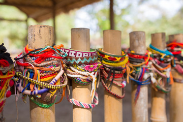 Bracelets for the victims of the killing fields of Cambodia. Phn