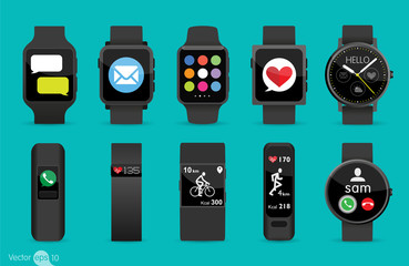 Set of Smart Watches
