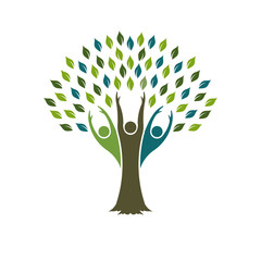 Tree of Liberty logo. Vector graphic design