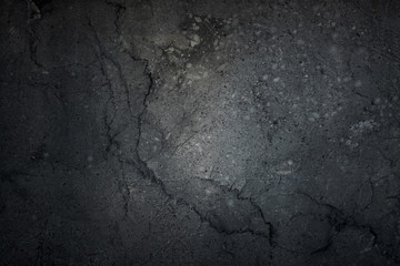 Black background, dark grunge abstract, wall, Cement black backg Wall mural