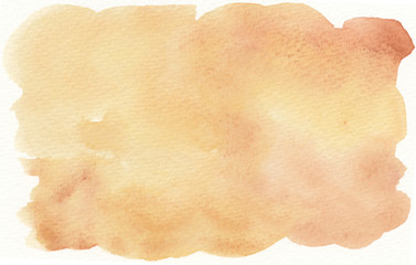 yellow brown shade tones abstract watercolor background
