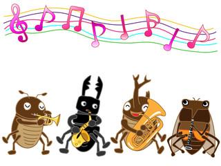 昆虫のコンサート