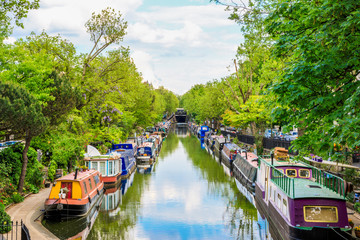 Poster Kanaal Little Venice in London