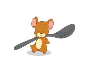 Mouse character , cartoon