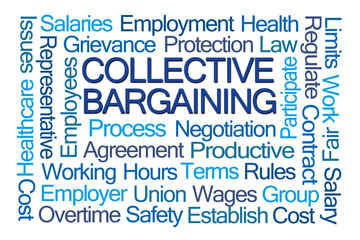 Collective Bargaining Word Cloud