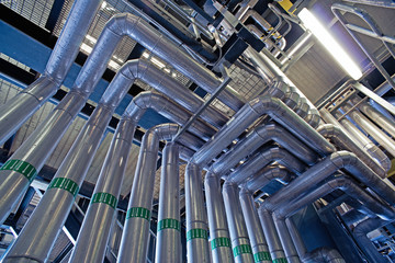 Equipment, cables and piping