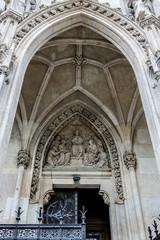 Votive Church (Votivkirche) on Ringstrasse in Vienna, Austria.