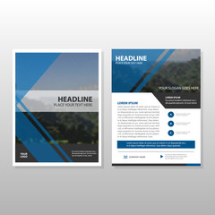 Corporate business proposal Leaflet Brochure Flyer template design, book cover layout design, abstract business presentation template, a4 size design