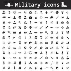 Military icon set icon