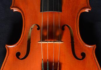 Geige Detail Korpus Streichinstrument
