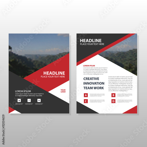 Corporate Business Proposal Leaflet Brochure Flyer Template Design