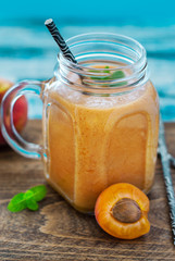Apricot And Peach Smoothie